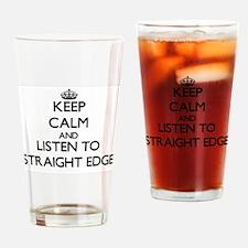 Cool Straight edge Drinking Glass
