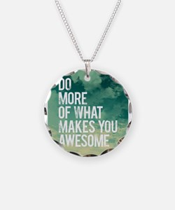 Do more Awesome Necklace