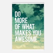 Do more Awesome Postcards (Package of 8)