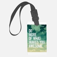 Do more Awesome Luggage Tag