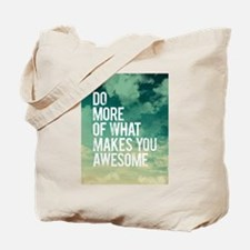 Do more Awesome Tote Bag