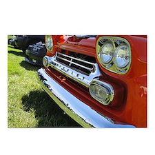 Old Orange Chevrolet Truck Postcards (Package of 8
