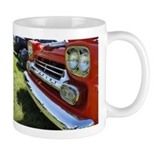 Old Orange Chevrolet Truck Mugs