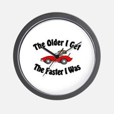 Older & Faster Wall Clock