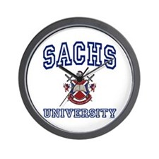 SACHS University Wall Clock