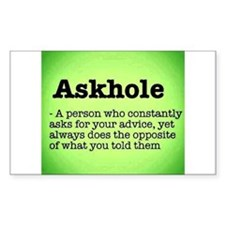 ASkhole Decal