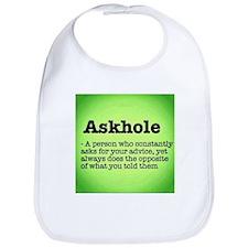 ASkhole Bib