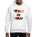 The On Fire Air Guitar Hooded Sweatshirt