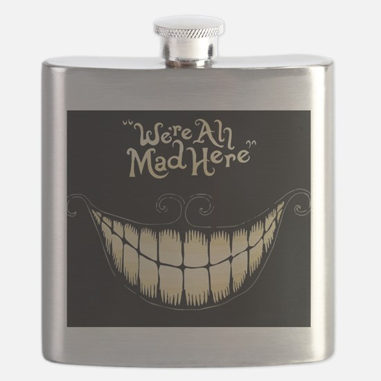 Were All Mad Here Flask