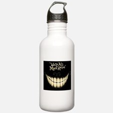 Were All Mad Here Water Bottle