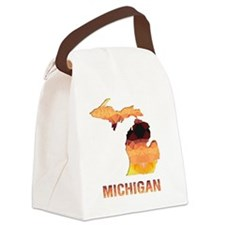 Cute State Canvas Lunch Bag