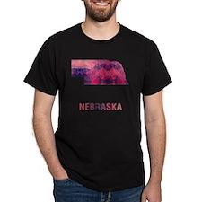 NEBRASKA MAP T-Shirt
