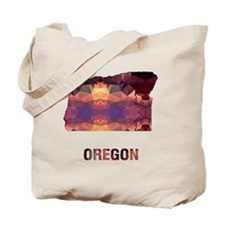 Cute Map oregon Tote Bag