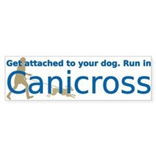 I Canicross Bumper Bumper Sticker