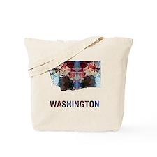 Cute Washington state Tote Bag