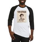Wanted Jesse James Baseball Jersey