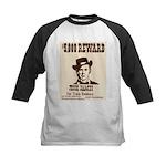 Wanted Jesse James Kids Baseball Jersey