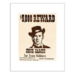 Wanted Jesse James Small Poster