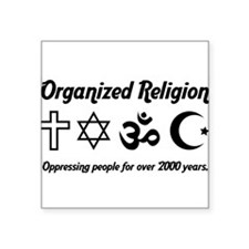 Organised Religion Sticker
