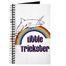 Little Trickster - Shark on a Rainbow Journal