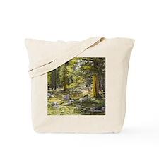 Sun Splashed Forest Tote Bag