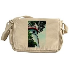 Lighthouse Messenger Bag