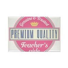 Cute Teacher aid Rectangle Magnet