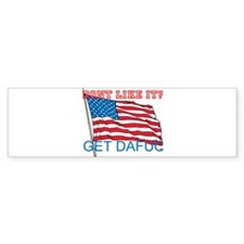 OUR WAY IN USA Bumper Bumper Sticker