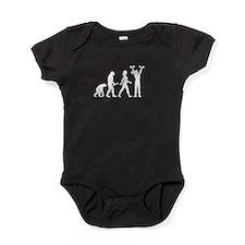 Weights Evolution Baby Bodysuit