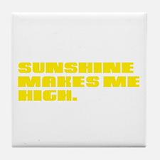 SUNSHINE HIGH Tile Coaster
