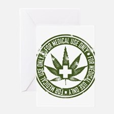 MMJ use only Greeting Cards