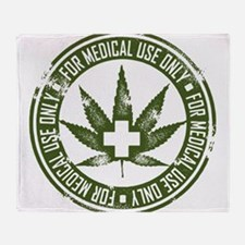 MMJ use only Throw Blanket