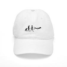 Scuba Diver Evolution Baseball Baseball Cap