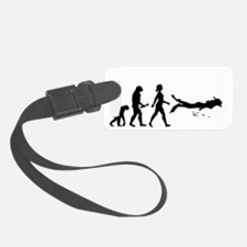Scuba Diver Evolution Luggage Tag