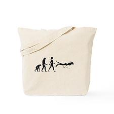 Scuba Diver Evolution Tote Bag