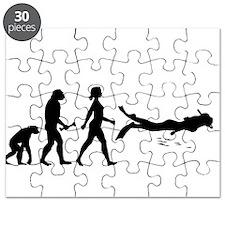Scuba Diver Evolution Puzzle