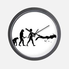Scuba Diver Evolution Wall Clock