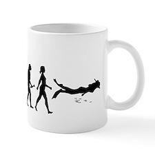 Scuba Diver Evolution Mugs