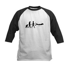 Scuba Diver Evolution Baseball Jersey