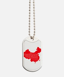Red Thread Dog Tags