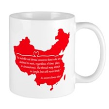 Red Thread Mug