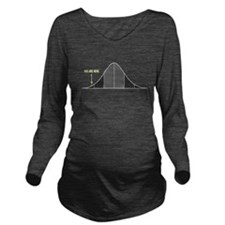 IQ Bell Curve You Are Here Long Sleeve Maternity T