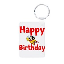 Happy Birthday Mighty Mouse Keychains