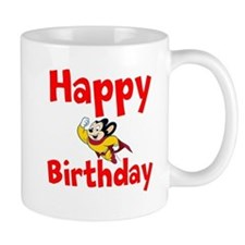 Happy Birthday Mighty Mouse Mugs