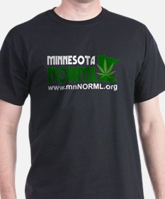 MN NORML Logo white on transparent T-Shirt