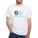 Geek Mens White T-shirts