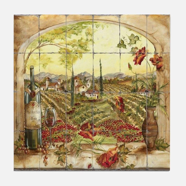 Tuscany Landscape Tile Coaster