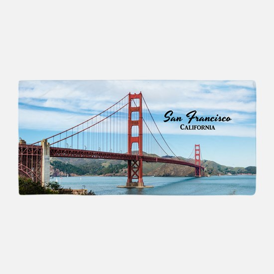 San Francisco Beach Towel