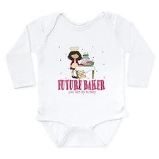 Cute Future chef Long Sleeve Infant Bodysuit