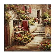 Tuscan Courtyard Tile Coaster